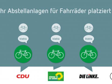Wahlprüfstein: Fahrradparken